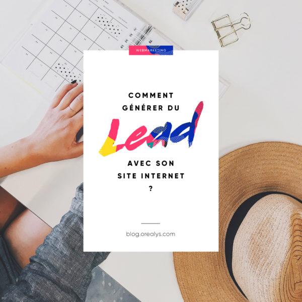 générer du lead avec son site